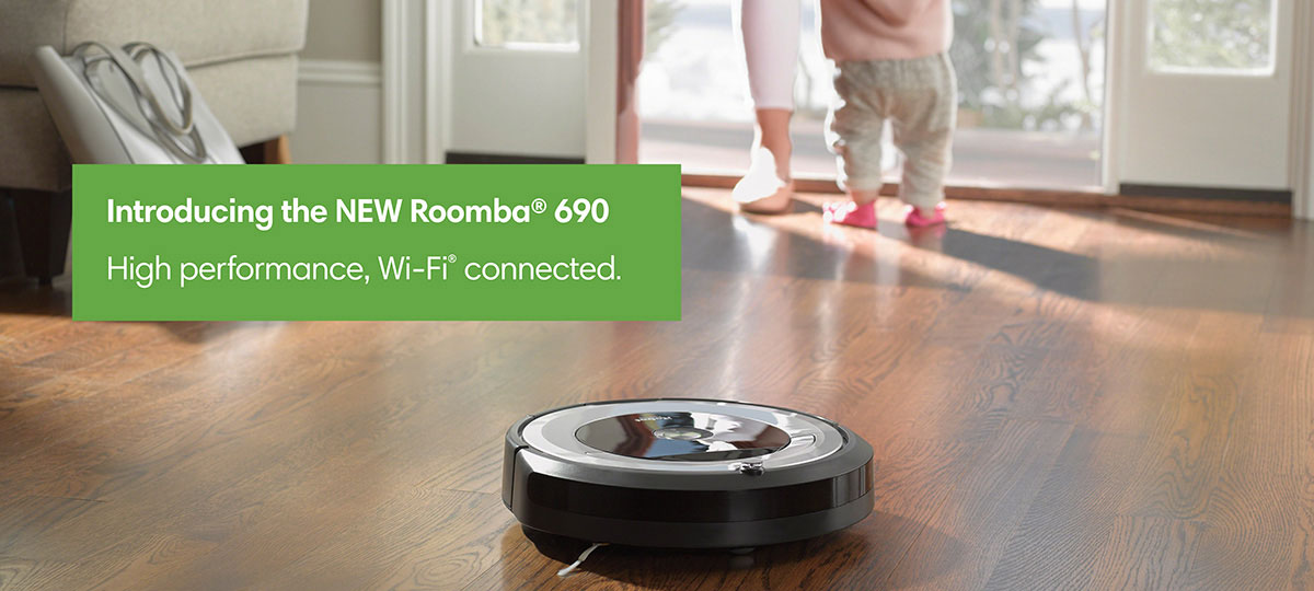 iRobot® Roomba® 690 Vacuuming Robot