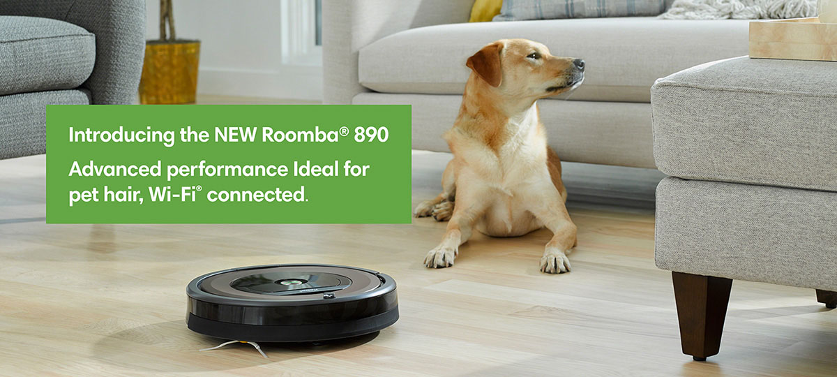 iRobot® Roomba® 890 Vacuuming Robot